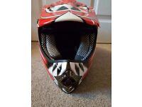 XS motorbike helmet