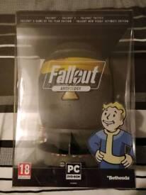 Fallout Anthology Edition Brand New Sealed, Mini Nuke