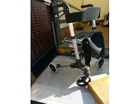 Push-along Walker seat