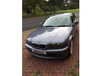 BMW 3 series coupe 2.2 petrol 167 miles