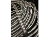 steel braided hose new huge length 52 feet approx 19mm/3/4 internal diameter