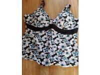 Yours tankini swim top size 26/28