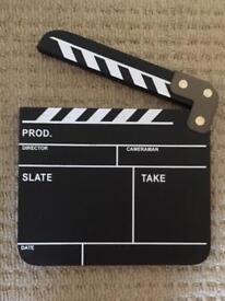Movie / Film Slate / Board / Clapper Prop
