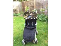 Maclaren techno XLR (used) Black/champagne £140