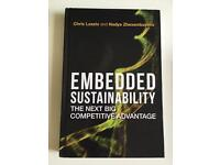 Embedded sustainability: the next competitive advantage