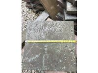 Concrete paving slabs 30cmx30cm - grey and red