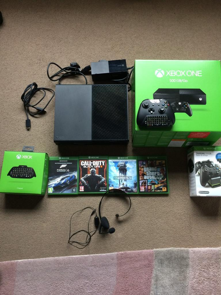 Xbox One 500gb Fantastic Condition!!
