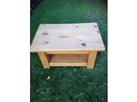 Pine Coffee/Side Table - Potter Heigham