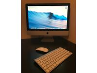 Apple Imac 21.5inch screen 2009 Fantastic condition Apple wireless mouse and apple keyboard included