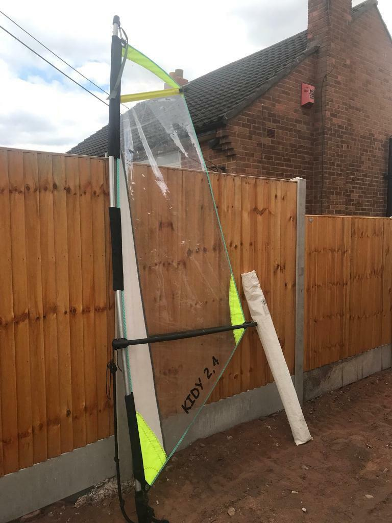 Kiddies Windsurfing sale, mast & boom | in Kinver, West Midlands | Gumtree