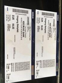 2 tickets to KBS Music Bank in Berlin, 15.09.2018