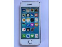 iPhone 5s 16gb White Vodafone. Excellent condition. Only rear camera not working.