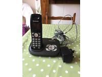 Panasonic cordless home phone with answer machine