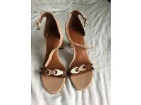 Brand New Coach Nude Sandals Size 3