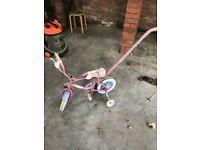 Kids Starter Bike with handle