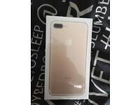 IPhone 7plus 32gb gold brand new