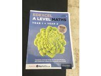 Edexcel A Level Maths Year 1 + Year 2 Bridging Edition.