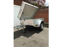 Anssems GT500 500kg trailer with hard top