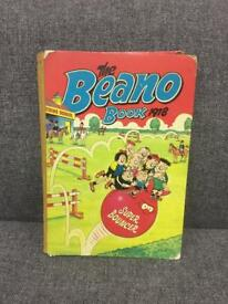 Rare The Beano Book 1978 70s vintage retro comic annual book *SOLD*