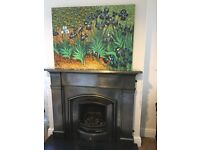 Vincent Van Gogh, Irises, canvas repro