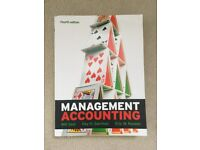 Management Accounting, author Will Seal, 4th ed.