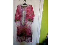 Lawn cloth with Asian designing for Ladies on Sale