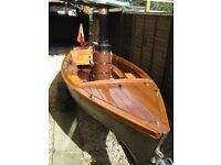 STEAM BOAT / LAUNCH FOR SALE