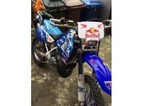 Honda cr/m 250 2 stroke swaps