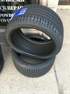 TWO NEW 295 / 30 R19 KINFOREST UHP PERFORMANCE TIRES