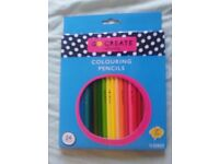 Colouring pencils- pack of 24