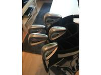 Adams a3 irons 6-pw and bag