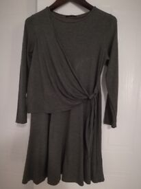 Brand New Marks and Spencer Grey Marl Dress