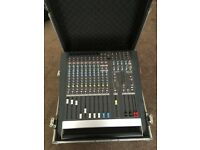 ALLEN & HEATH 1000 WATT MIXING DESK, FLIGHT CASED