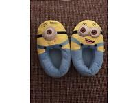 Adult Minion Slippers - Brand New Never Worn