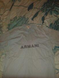 Armani Blue Tshirt / Top