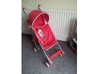 MINI MOUSE STROLLER AS NEW