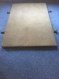 6 Heavy duty gym matts