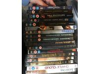Selection of DVDs and Blu-Rays