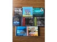 A selection of audio books