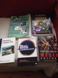 STUDENT MEDIA/FILM Books, DVD's & CD - Various