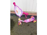 Peppa pig scooter for young girls