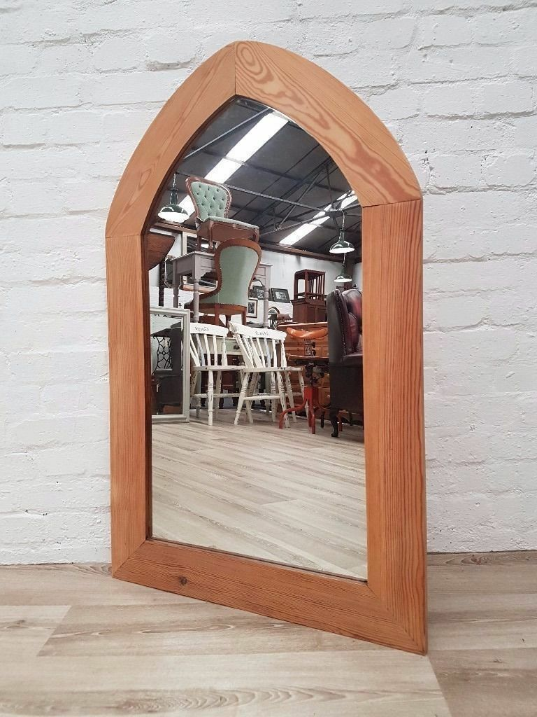 Pine Wall Mirror (DELIVERY AVAILABLE)