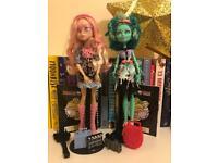 2 set- Monster High Dolls