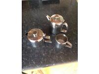 10 steel teapots various sizes 1-2 person pots