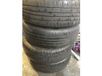 4 x steel wheels with tyres 175/65/14