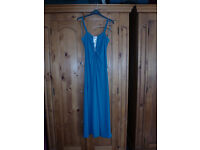 Size 12 Maxi Evening Dress with diamante detail.