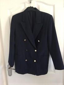 Navy jacket - size 12