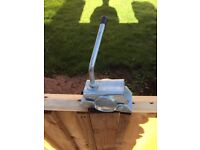 Caravan Jockey Wheel Clamping Bracket.
