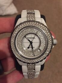 Lady's Chanel J12 Diamond Watch