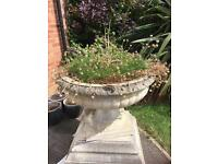 Large fountain/plant pot